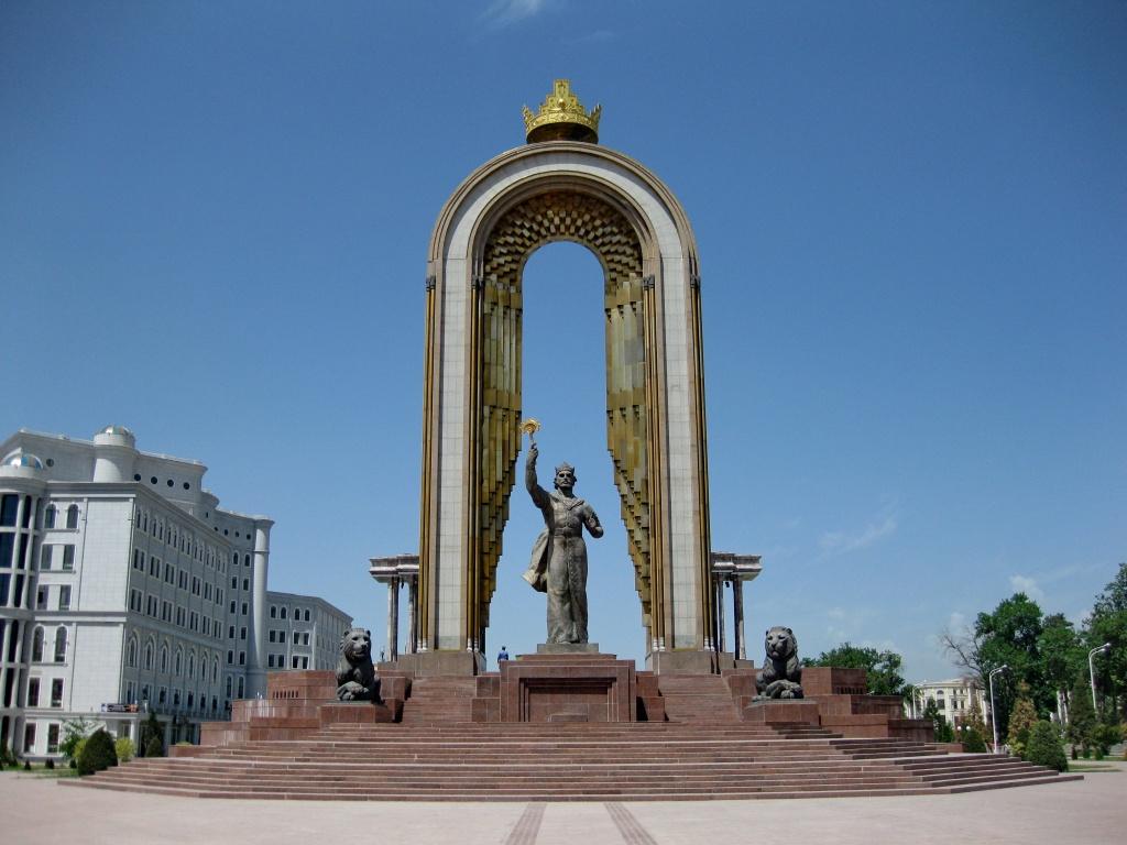 Ismail Samani, Monument